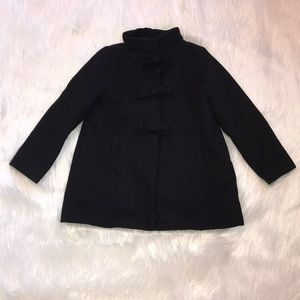 Girls Dressed Up by Gymboree Black Pea Coat